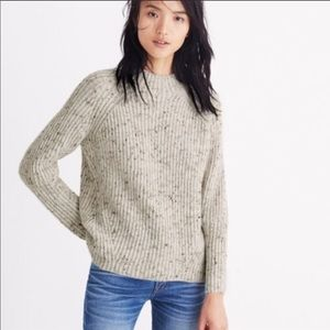Madewell Donegal Northfield Mock Sweater 🍂